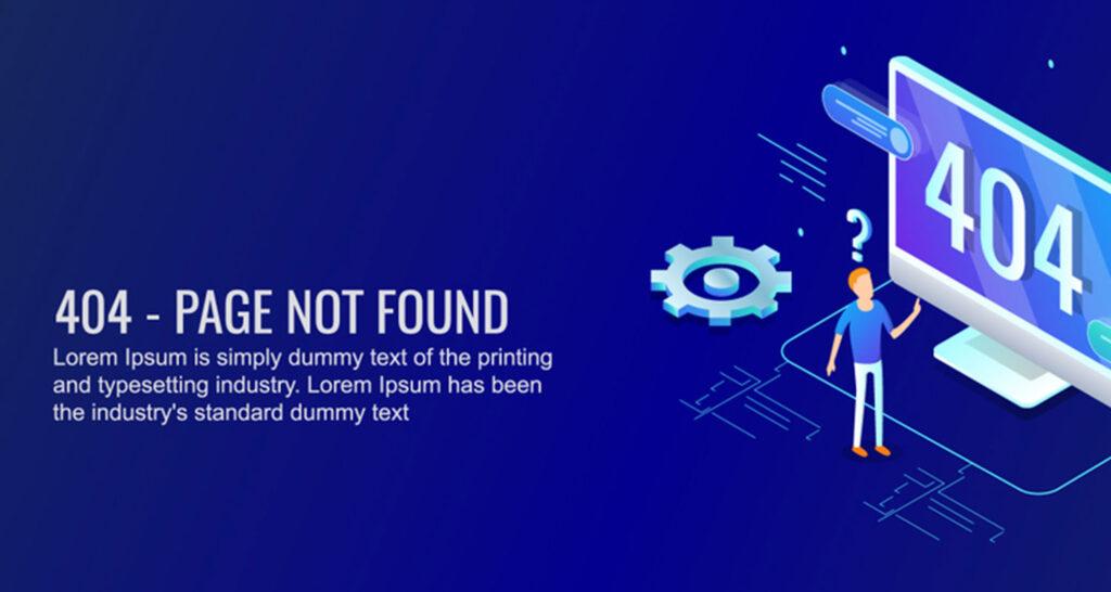 Cara Perbaiki Error 404 dan Mengetahui Penyebab Error 404