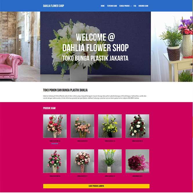 Dahlia Flower Shop