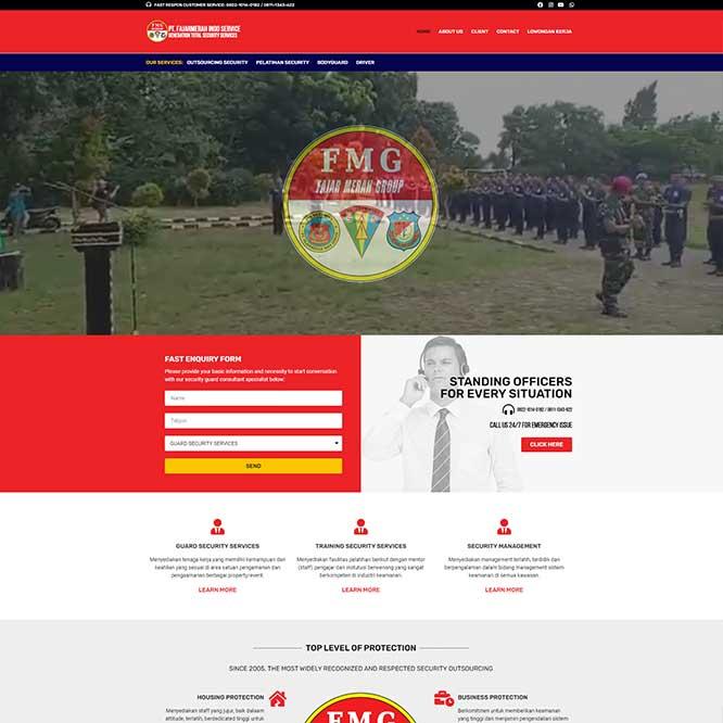 PT. FAJARMERAH INDO SERVICE